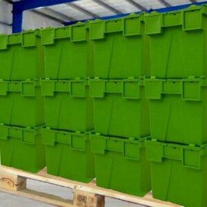 cajas nave almacén guardamuebles
