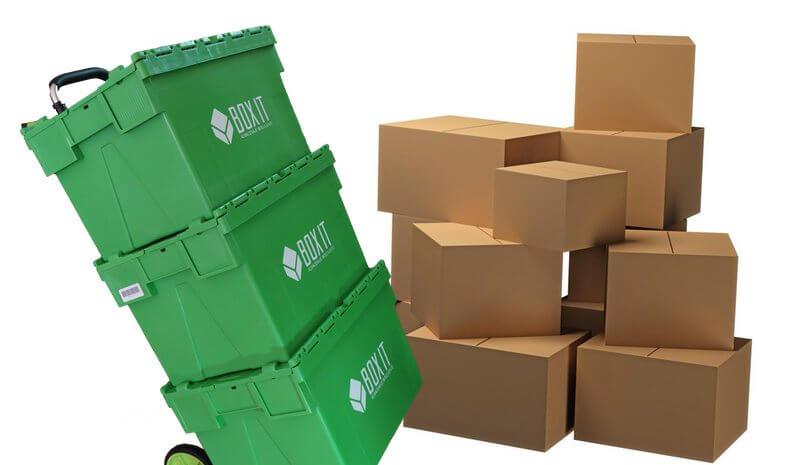 Cajas de mudanza y embalaje Boxit