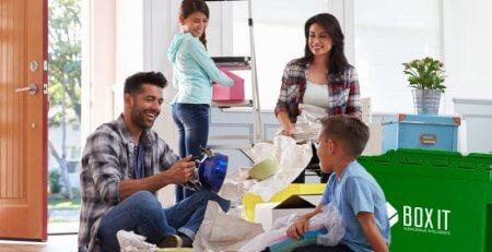 Umzug mit Kindern, grundlegende Tipps