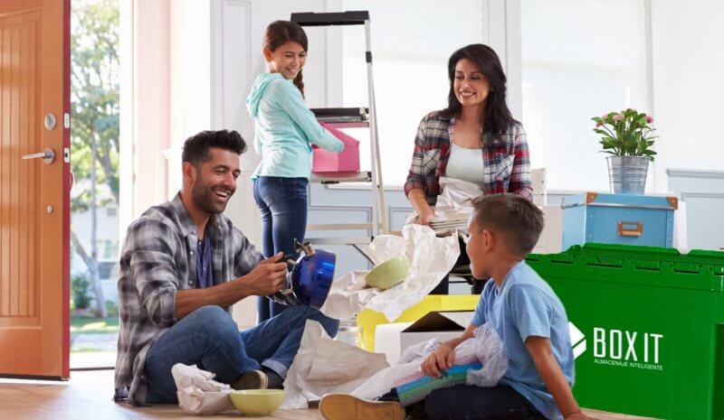 Mudanza con niños, consejos básicos