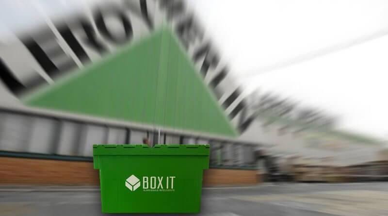 Alternativa cajas de cartón para mudanza Leroy Merlyn y Amazon